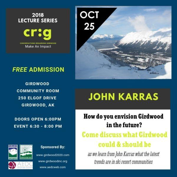 Lecture Series John Karras Oct 25 2018 2